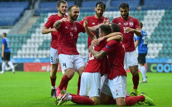 Грузия стартовала в Лиге наций с победы