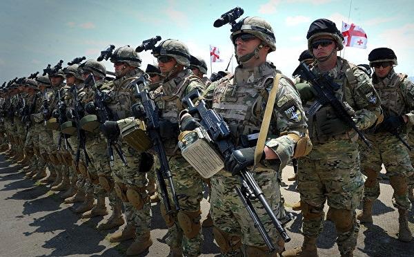 Грузинская армия отмечает 29-летие со дня основания