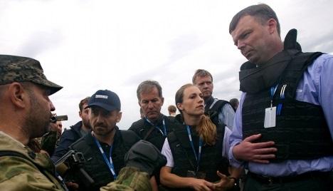 ОБСЕ будет пытаться прекратить огонь в горячих точках Донбасса